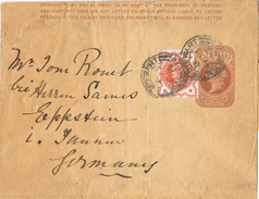 20656. Faja Publicacion Newpapers STEWART (England) 1895 To Germany