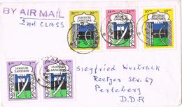 20657. Carta Aerea ZANZIBAR 1964 To Alemania DDR - Zanzibar (1963-1968)