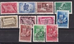 HONGRIE - B°Y&T - Série 883/93 - Les 11 Valeurs - - Tous Oblitérés - Oblitérés