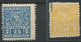 1556 - HORGEN - Fiskalmarken