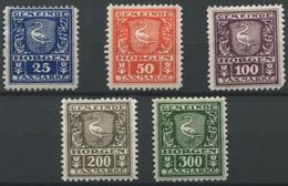 1557 - HORGEN - Fiskalmarken - Fiscaux