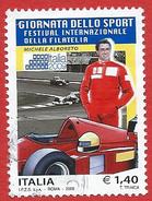 Italia 2009; Michele Alboreto : Festival Della Filatelia. Usato - 2001-10: Usati