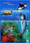 France BF N°  48 ** Aussi 3485 à 3488 ** - Nature - WWF - Faune Marine -> Tortue, Dauphin Orque, Phoque - Nuevos