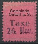 1561 - OETWIL A. S. - Fiskalmarke - Fiscaux