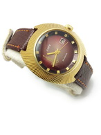 Ultra Rare! USSR Gold Plated AU Mechanical Watch ZARIA 2009.1 Zarya 22j Olympic Games 1980 Moscow. Penza Watch Factory! - Watches: Old
