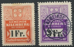 1563 - KILCHBERG - Fiskalmarken