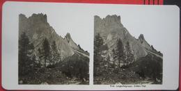 Stereofoto: Italien Südtirol Wolkenstein In Gröden / Selva Di Val Gardena (BZ) - Langkofelgruppe - Stereo-Photographie
