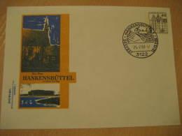 SWAN SWANS Hankensbuttel 1980 Cancel Postal Stationery Cover Germany