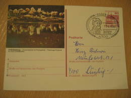 FLAMINGO FLAMANT ZOO Duisburg Essen 1986 Cancel Postal Stationery Card Germany