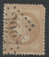 Lot N°33850   N°28B, Oblit GC 3997 TOURS (36) - 1863-1870 Napoléon III Lauré