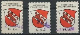 1567 - PFÄFFIKON - Fiskalmarken