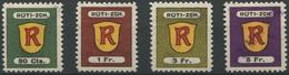 1575 - RÜTI ZÜRICH - Fiskalmarken - Steuermarken