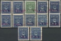 1576 - THALWIL - Fiskalmarken - Fiscaux