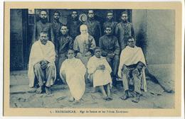 CARTOLINA MADAGASCAR OEUVRE DES PRETRES MALGACHE IMGE DE SAUNE E LES FRERES XAVERIENS RELIGIONE - Madagascar