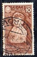 T2255 - REGNO 1937, Sassone N. 406 Usato. Colonie Estive - Gebraucht