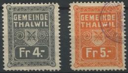 1578 - THALWIL - Fiskalmarken - Steuermarken