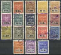 1579 - THALWIL - Fiskalmarken