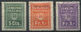 1580 - THALWIL - Fiskalmarken