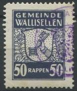 1587 - WALLISELLEN - Fiskalmarke
