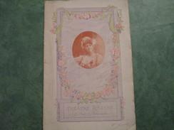 THEATRE REJANE - MADAME SANS GENE De V. Sardou Et E. Moreau (20 Pages) - Programmi