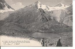Le Bac Et La Cabane De Chanrion. Le Mont Avril Et Le Col De La Fenêtre. - France