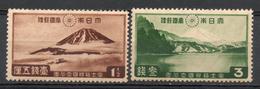 Japan Japon : (54) 1936 Parc National Fuji-Hakone Sc# 223,224**