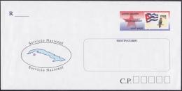 2001-EP-95 CUBA 2001. POSTAL STATIONERY. SOBRE CARTA SERVICIO NACIONAL. - Storia Postale