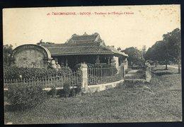 Cpa De Cochinchine Viêt Nam - Saigon  -- Tombeau De L' Evêque D' Adran    JIP89 - Vietnam