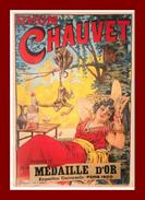 Théme Pub * Rhum Chauvet   ( Scan Recto Et Verso ) édition Clouet - Publicidad