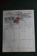 Facture Ancienne, Ste OLLE Les CAMBRAI - F.POURPOINT , Manufacture De Chicorées Supérieures. - 1900 – 1949
