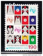 South Korea MNH Scott #2075 190w 50th Anniversary Korea's Entry In Int'l Telecommunications Union - Corée Du Sud