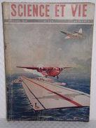 Aviation//Avion//Aéronotique//Porte-Avions Japonais - SCIENCE ET VIE - Revue Tome LXVIII - N°339 De Décembre 1945 - Manuals