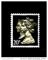 GREAT BRITAIN - 1990  DOUBLE HEADS  20p. PCP  QUESTA  MINT NH  SG 1478 - 1952-.... (Elizabeth II)
