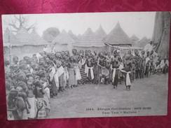 AFRIQUE OCCIDENTALE .  HAUTE GUINEE . TAM TAM . MALINKE . SEIN NU - Guinée