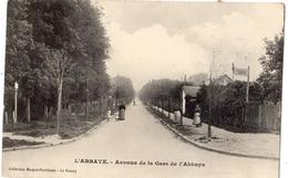 AULNAY-SOUS-BOIS L'ABBAYE AVENUE DE LA GARE DE L'ABBAYE - Aulnay Sous Bois