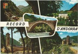 T1205 Record D'Andorra - Multivues / Viaggiata 1965 - Andorra