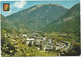 T1206 Andorra La Vella - Vista General / Viaggiata 1966 - Andorra