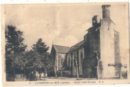 -40- CAPBRETON  Sur MER  église Saint Nicolas - TTB écrite - Capbreton