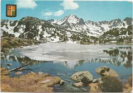 T1207 Valls D'Andorra - Llac D'Els Pessons / Viaggiata 1966 - Andorra