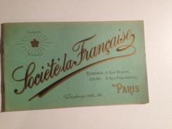 SOCIETE LA FRANCAISE, Catalogue Publicitaire,la Bicyclette, Vers 1900 ,marque Diamant - Publicidad