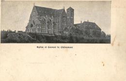BELGIQUE - LIEGE - CHAUDFONTAINE - VAUX-SOUS-CHEVREMONT - Eglise Et Couvent De Chèvremont. - Chaudfontaine