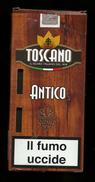 Tabacco Pacchetto Di Sigari Italia - 5 Toscano Antico  - Tobacco-Tabac-Tabak-Tabaco - Empty Cigarettes Boxes