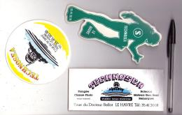 Autocollant 007, Plongée, Lot De 3 Atocollants Club De Plongée Technosea à Le Havre - Stickers