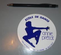 Autocollant 019, Sport Danse Ecole De Danse Annie Prétat - 108 Rue Saint-Jacques - Le Havre - Stickers