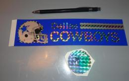 Autocollant 022, Sport Football Americain - Dallas Cowboys + Philadelphia Eagles - Stickers