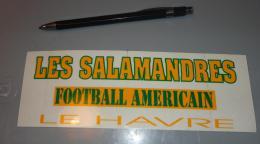 Autocollant 023, Sport Football Americain - Les Salamandres - Le Havre - Adesivi