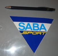 Autocollant 041, Sport Marque Magasin Saba Sport - Stickers