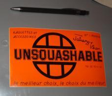 Autocollant 046, Sport Marque Magasin Unsquashable - Aufkleber