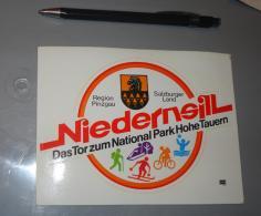 Autocollant 048, Sport Niedernsill Pinzgau Slazburger - Autocollants
