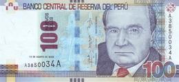 * PERU 100 NUEVOS SOLES 2009 P-185 UNC [PE185] - Peru